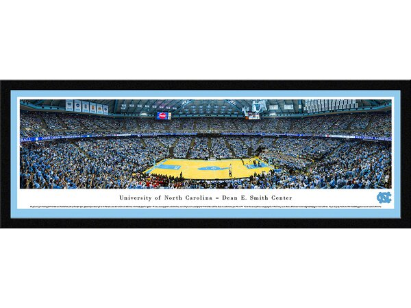 NCAA North Carolina, University of - Basketball by Christopher Gjevre Framed Photographic Print by Blakeway Worldwide Panoramas, Inc