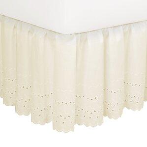 Dandelion Eyelet 180 Thread Count Bed Skirt