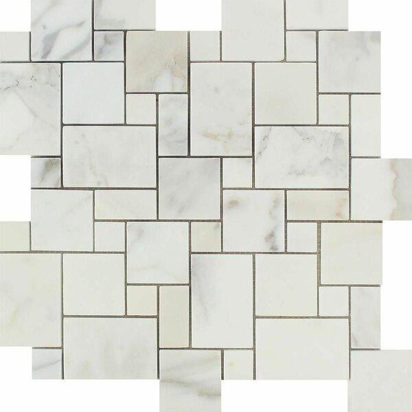 Marble Versailles Mosaic Wall & Floor Tile