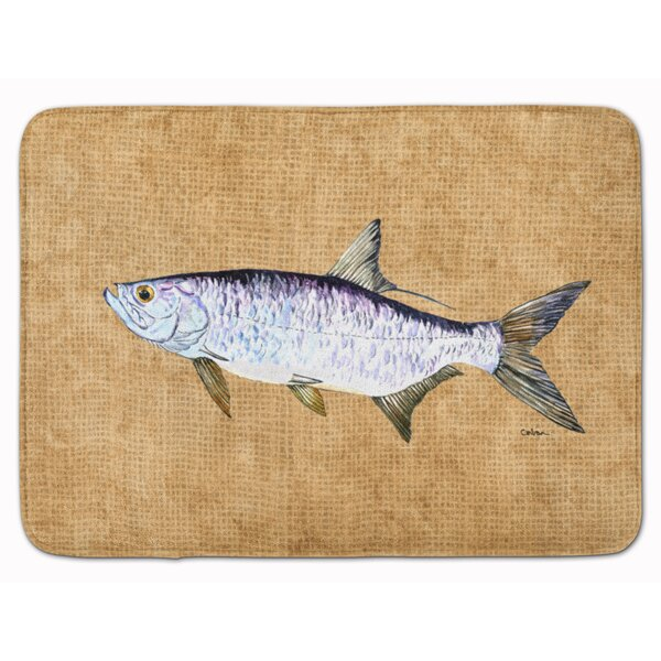 Tarpon Memory Foam Bath Rug by East Urban Home