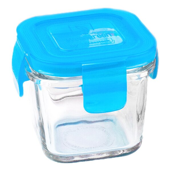 Wean Cube Single 4 Oz. Food Storage Container by Wean Green