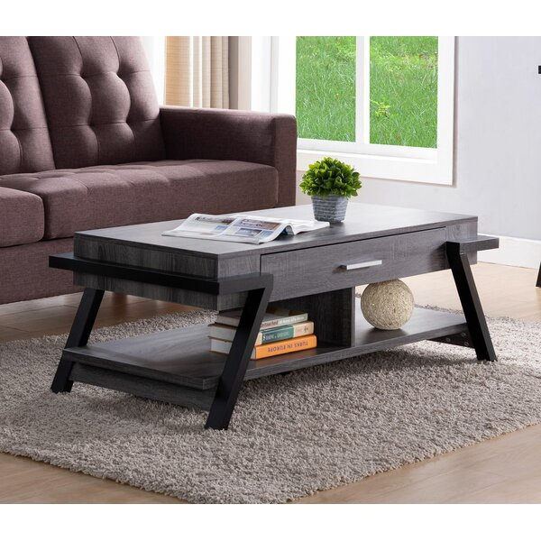 Vandusen Coffee Table With Storage By 17 Stories