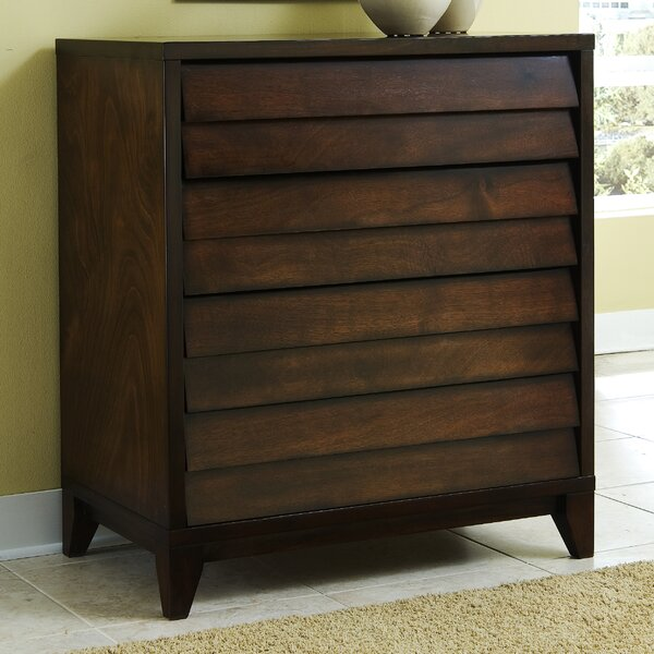 Island 4 Drawer Media Dresser by Home Image
