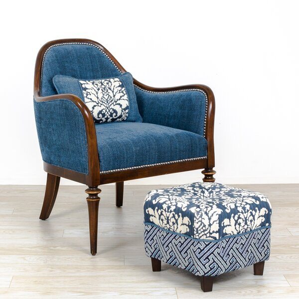 Devizes Armchair and Ottoman by Darby Home Co