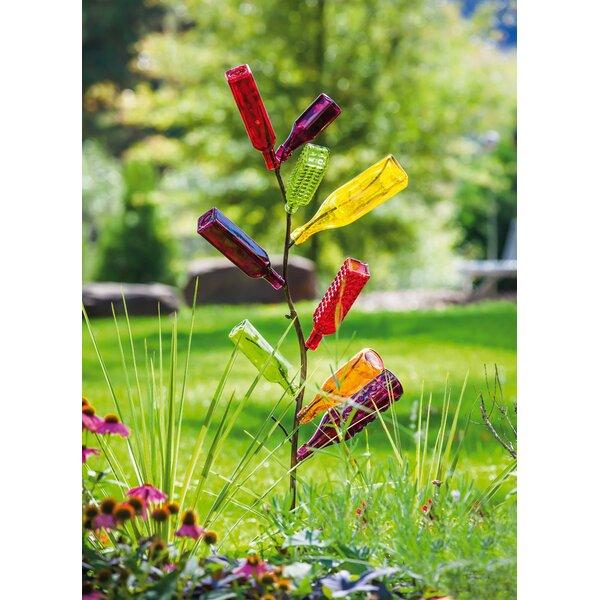 Metal Bottle Tree Garden Stake by Evergreen Enterprises, Inc