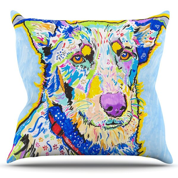Becca by Rebecca Fischer Outdoor Throw Pillow by East Urban Home