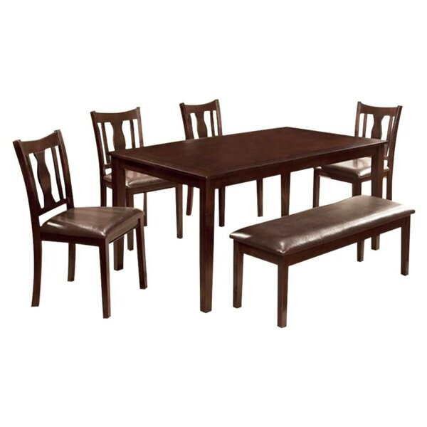 Krupp 6 Piece Dining Set by Alcott Hill
