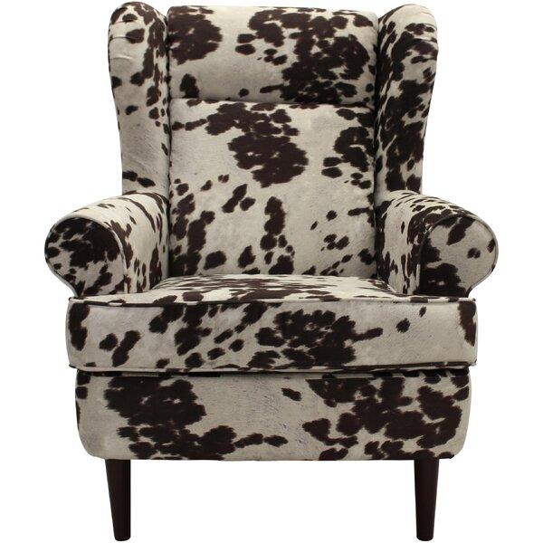 Baskin Wingback Chair By Loon Peak