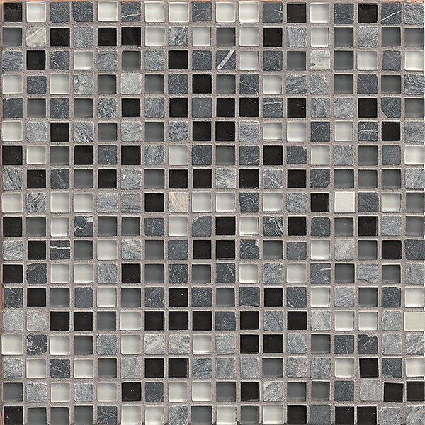 Carlisle 12 x 12 Mosaic Blend Tile in Essex by Grayson Martin