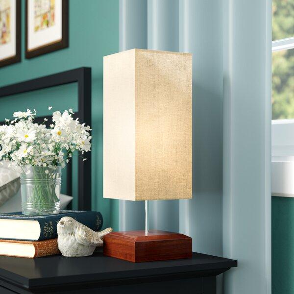 Hester Street Minimalist Living Room Indoor 17 Table Lamp by Zoomie Kids