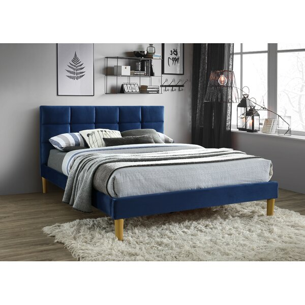 Gilley Square Tufted Upholstered Platform Bed by Mercer41
