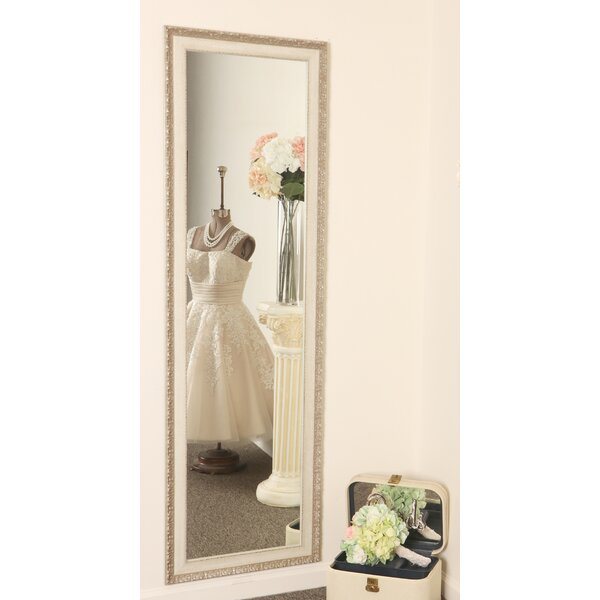 Manville Vintage English Slim Full Length Mirror by Ophelia & Co.