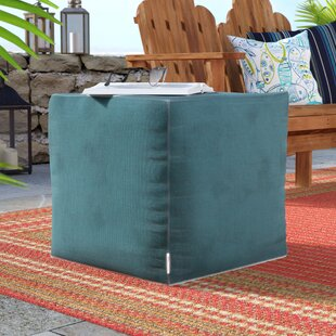 Best Price Adamstown Pouf By Beachcrest Home