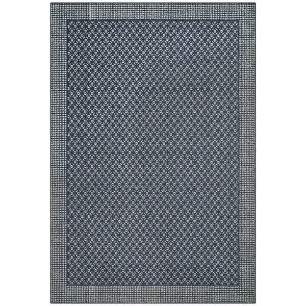 Ohlone Navy Area Rug by World Menagerie