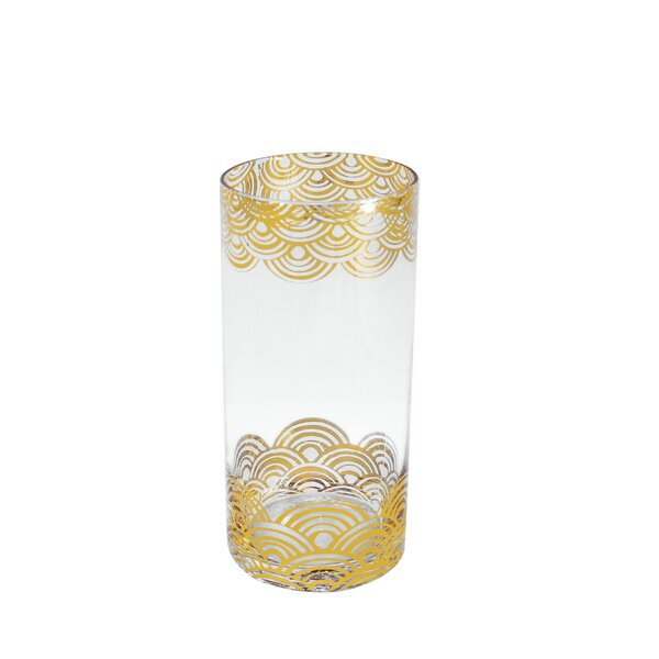 Wave Highball (Set of 4) by Tinsley Mortimer