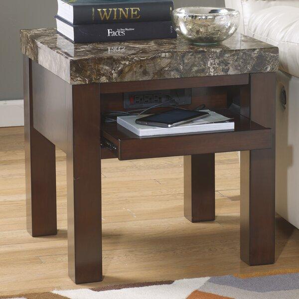 Hetton End Table by Fleur De Lis Living