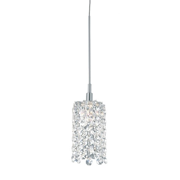 Refrax 1-Light Mini Crystal Pendant by Schonbek