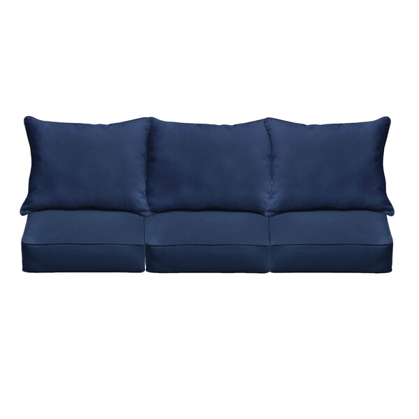Indoor/Outdoor Sunbrella Sofa Cushion by Mistana