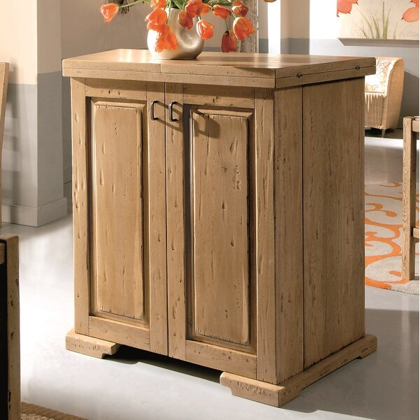 Kenmure Folding Bar Cabinet By Loon Peak