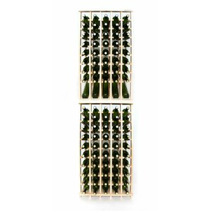 Premium Cellar Series 100 Bottle Floor Wine Rack by Wineracks.com