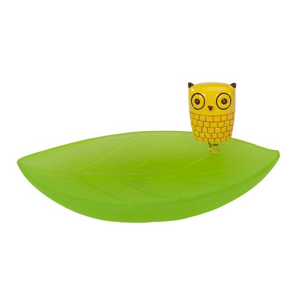 Hepler Hoot Soap Dish by Zoomie Kids