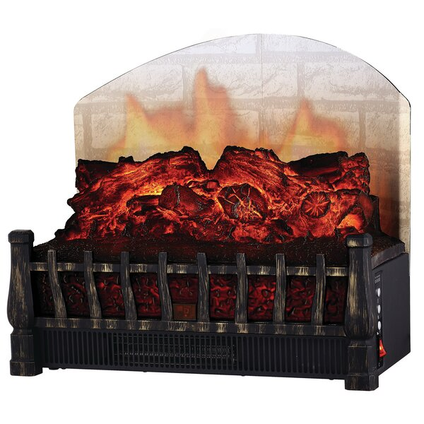 Comfort Glow Electric Log Set with Heater by All-Pro
