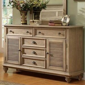 Margate 5 Drawer Combo Dresser by Three Posts