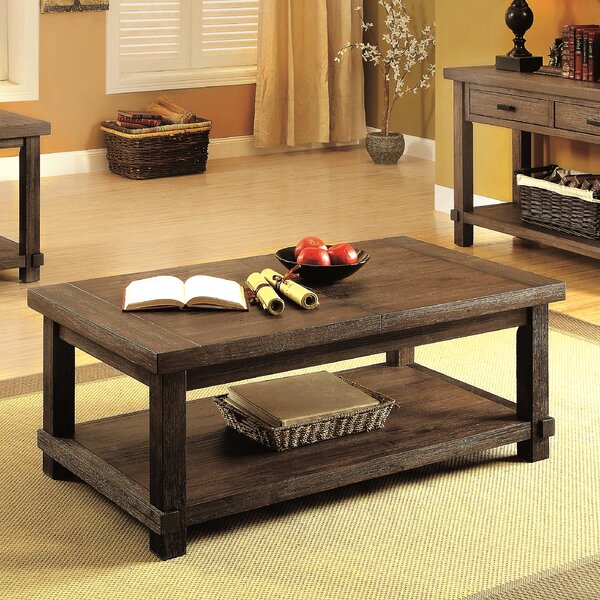 Matthews Coffee Table With Storage By Union Rustic