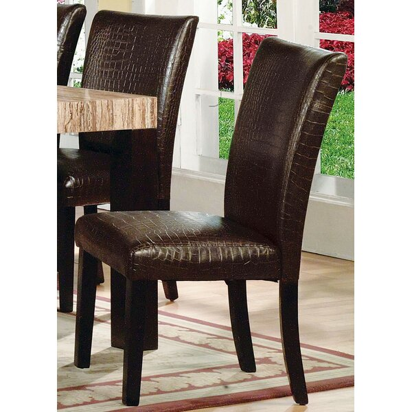 Nautilus Upholstered Dining Chair (Set of 2) by Canora Grey