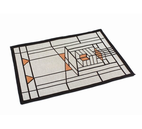 Frank Lloyd Wright ® Robie House Placemat (Set of 4) by Rennie & Rose Design Group