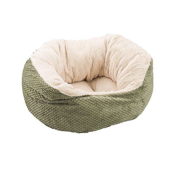 Sleep Zone Checkerboard Snapper Dog Bed by Ethical Pet
