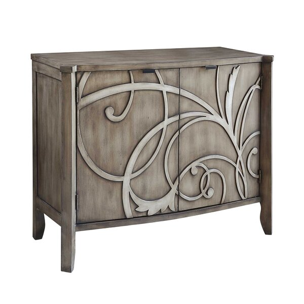Gossoncourt 2 Door Accent cabinet by House of Hampton House of Hampton
