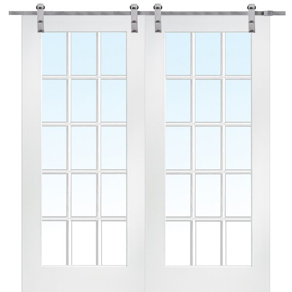MDF Primed Interior Barn Door by Verona Home Design