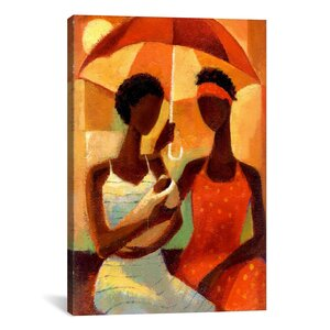 'In the Shade' by Keith Mallett Painting Print on Canvas by iCanvas
