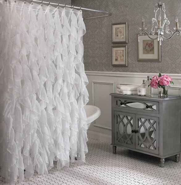 Westendorf Cascading Waterfall Shower Curtain by Willa Arlo Interiors
