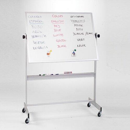 Deluxe Porcelain/Cork Magnetic Reversible Whiteboard by Best-Rite®