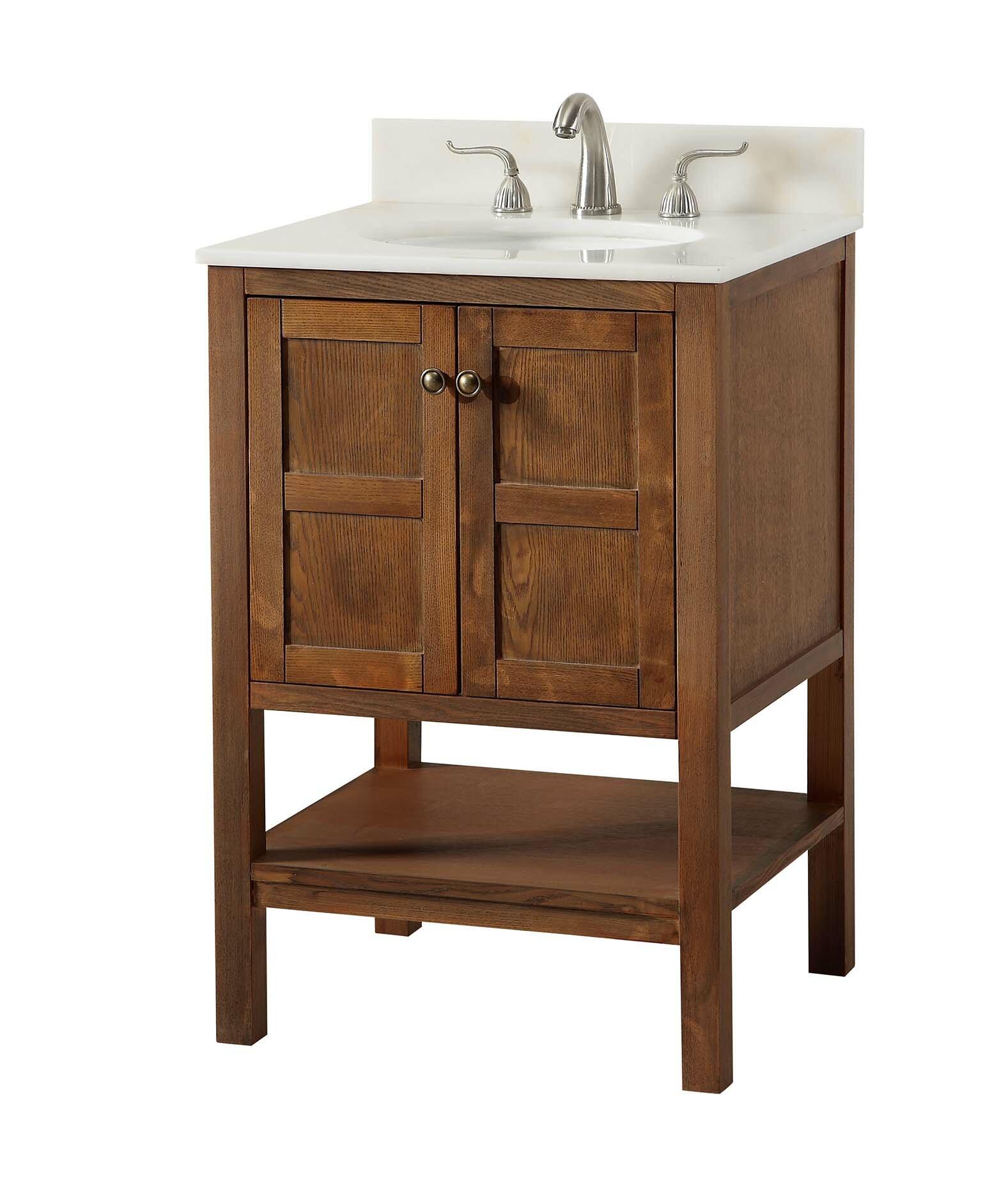 Aula 24 Single Bathroom Vanity Set