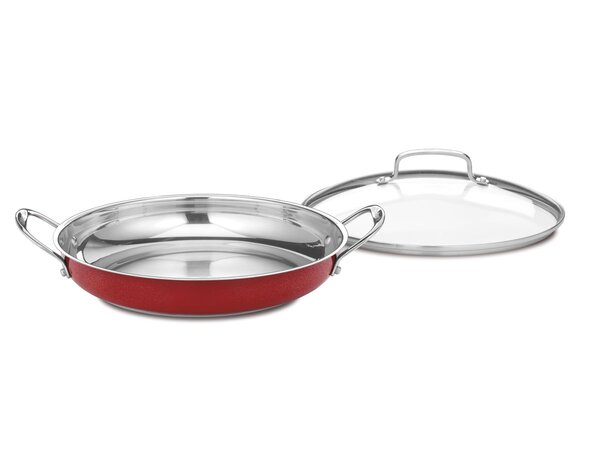 12 Skillet with Lid by Cuisinart