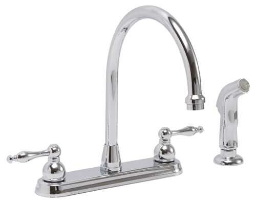 Wellington Hot & Cold Water Dispenser with Side Spray by Premier Faucet