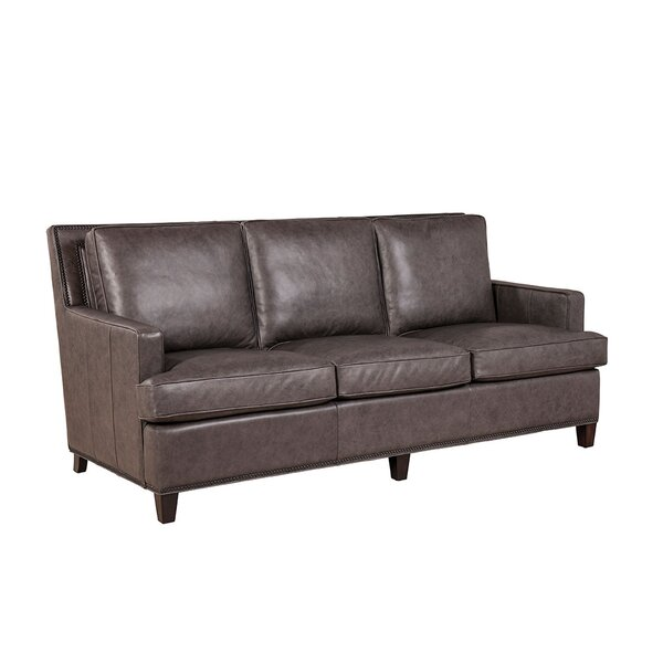 Sweetwater Leather Sofa by Loon Peak
