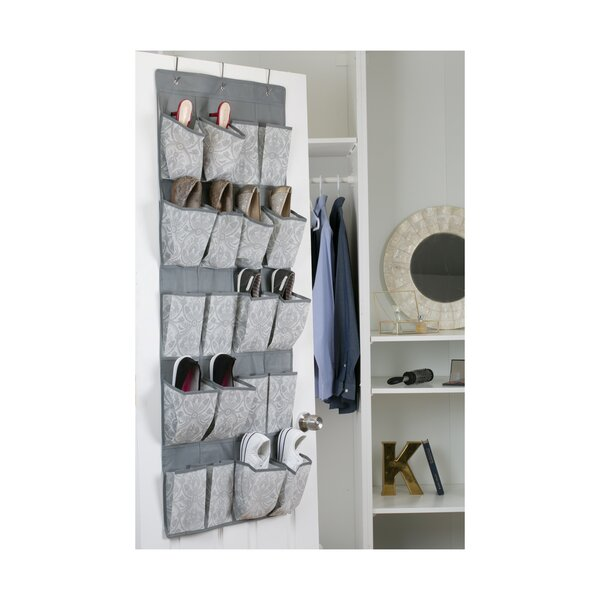 Almeida 20 Pair Overdoor Shoe Organizer by Laura Ashley Home