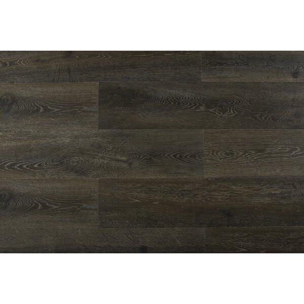Augustus 7.71 x 72.83 x 12mm Oak Laminate Flooring in Ruby Tempest by Serradon
