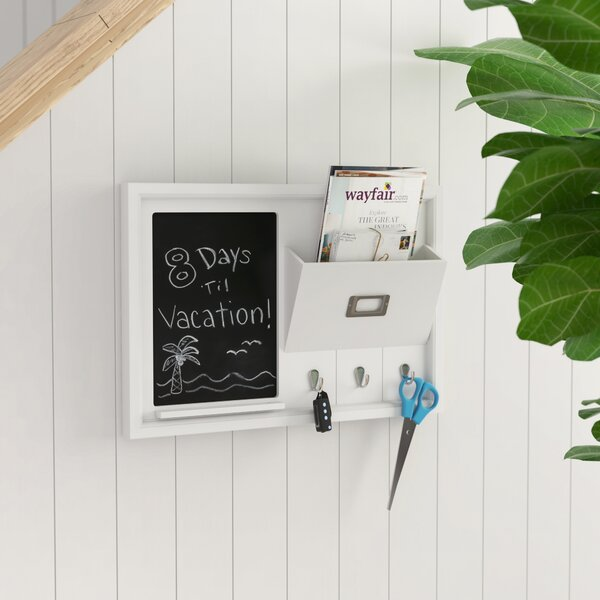 Organization Wall Mounted Chalkboard by Rebrilliant