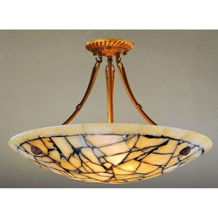 Best Reviews Overly 5-Light Semi Flush Mount By Bloomsbury Market
