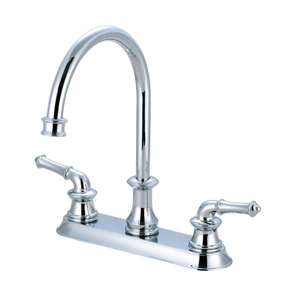 Double Handle Kitchen Faucet by Pioneer
