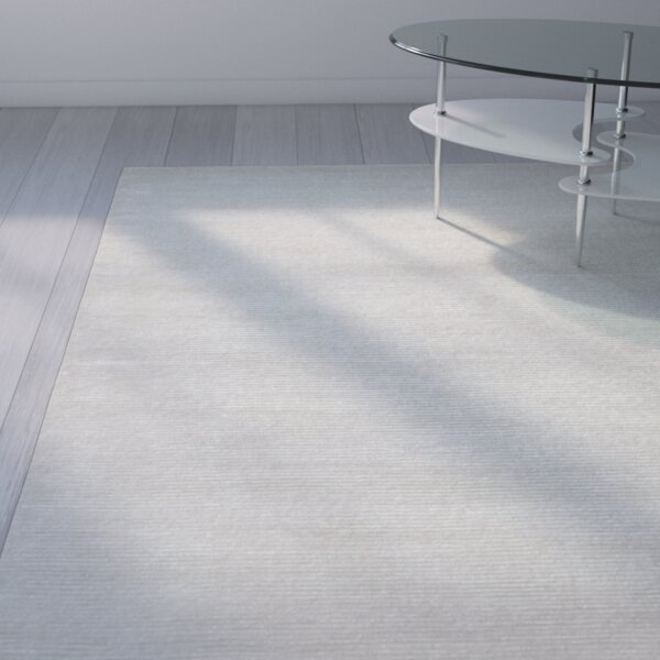 Alyson Hand-Loomed French Vanilla Area Rug by Orren Ellis