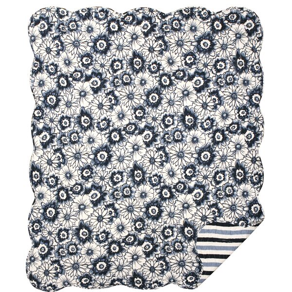 Debbie Cotton Throw Blanket by Great Finds