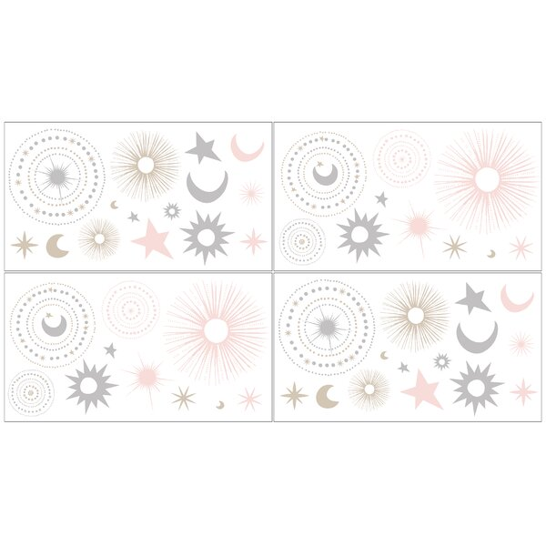 Celestial Wall Decal (Set of 4) by Sweet Jojo Designs