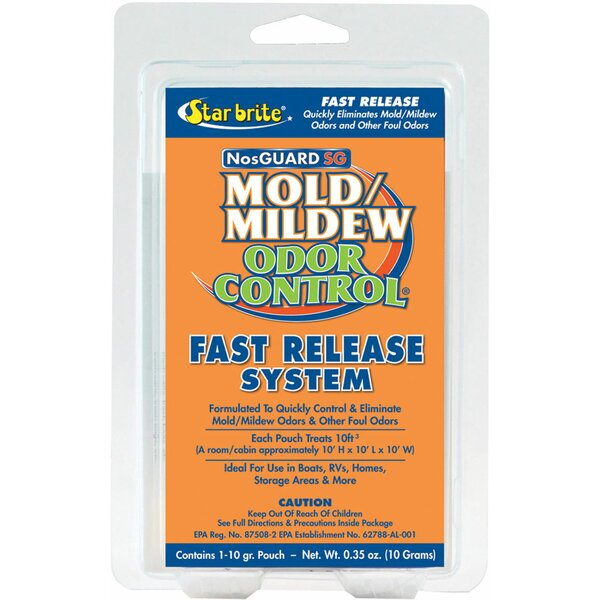Nosguard SG Mold/Mildew Odor Control with Fast Release Cooling System by Star Brite