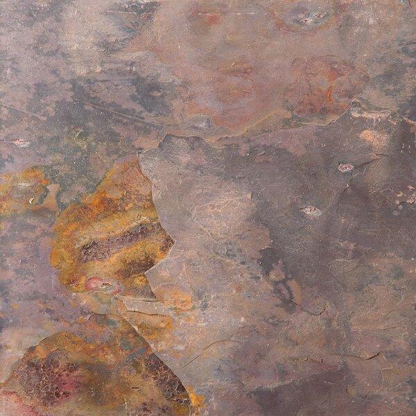 Slate 12 x 12 Field Tile in Multi Rajah by Emser Tile